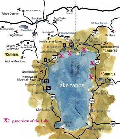 Tahoe Map